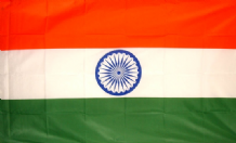 INDIA - HAND WAVING FLAG (MEDIUM)